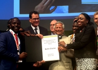 "G 20 Initiative on Zero Hunger :  German Minister Launches  'Berlin Charter"" with Yunus"