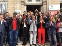 Yunus Addresses European Youth Festival Encouraging Youth to Imagine a World they Want