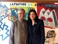 Yunus and Paris Mayor Anne Hidalgo launches French Social Business Initiatives