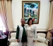 Yunus Discusses Social Business Collaboration with Dominican Republic Vice President