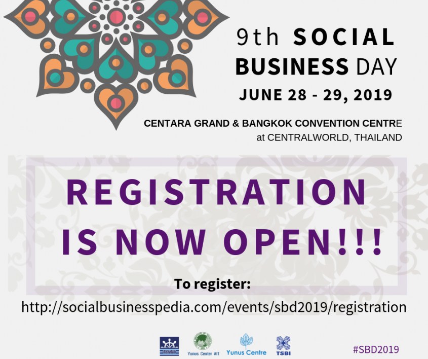 REGISTRATION IS NOW OPEN - 9TH SOCIAL BUSINESS DAY, 28-29