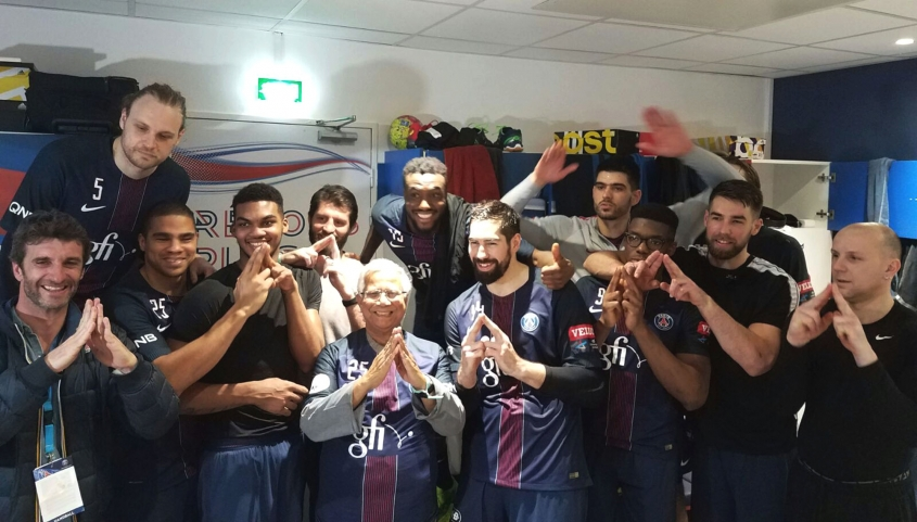 Yunus Honoured by PSG Handball Club of Paris for Supporting Athletes and Sports World with Social Business