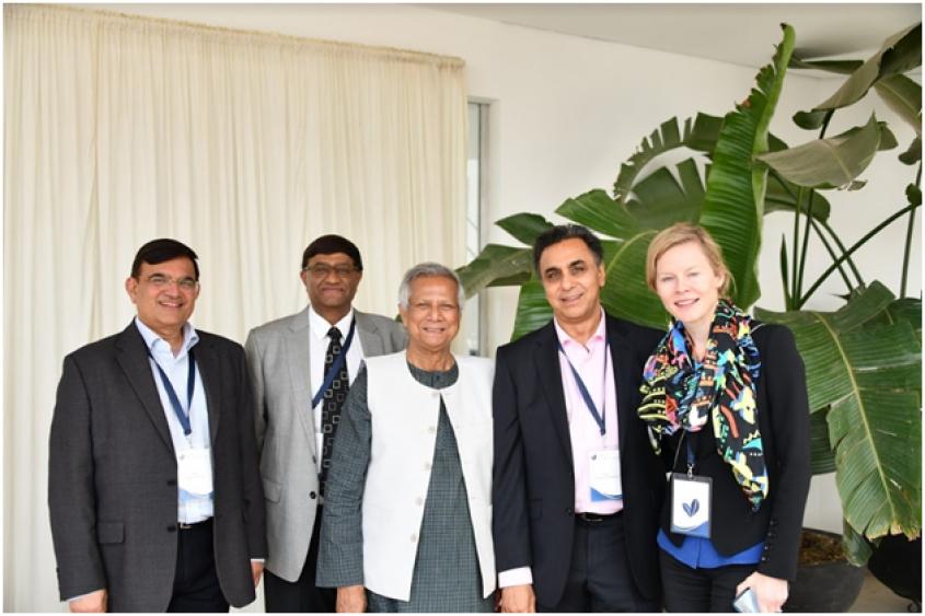 "Yunus launches ""Yunus Social Business Kenya"" in Partnership with"